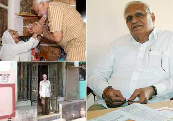 b day special narendra modi s family members