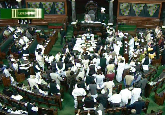 both houses of parliament adjourned over coalgate