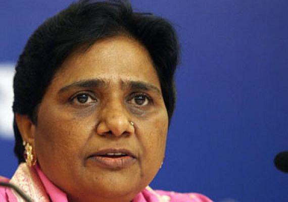 divide uttar pradesh into four states mayawati