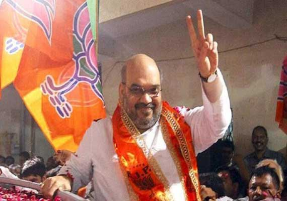 does bjp have limited talent congress on amit shah