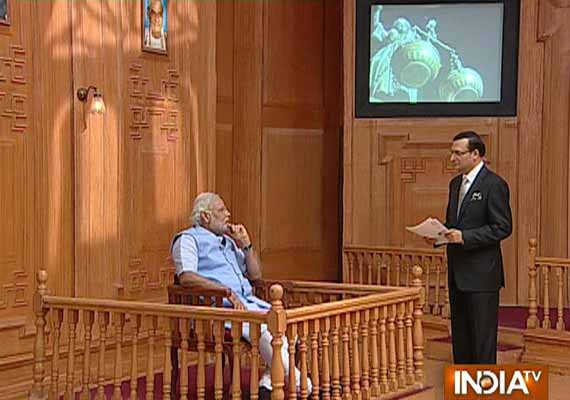 exclusive read full interview of narendra modi to rajat