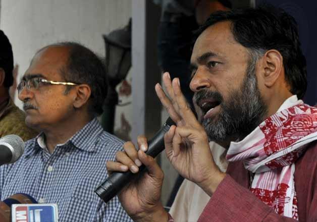 ex aap leader yogendra yadav launches swaraj abhiyan in