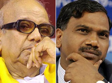 karuna stands by raja resignation to allow par proceedings