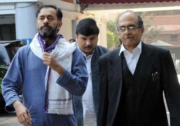 AAP crisis deepens as Yogendra Yadav and Prashant Bhushan
