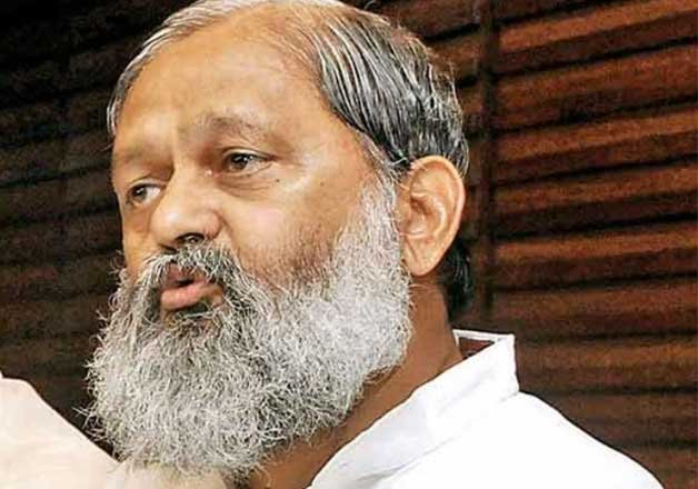 haryana s health minister anil vij upset over agitation by