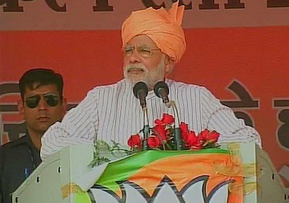 i want to bring in saffron revolution says narendra modi