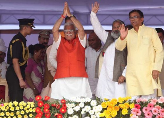 haryana government to probe all land scams of erstwhile