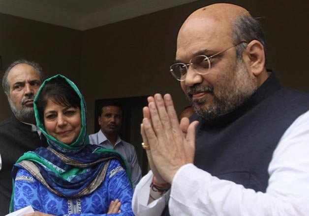 is pdp bjp alliance over without a formal divorce in j k