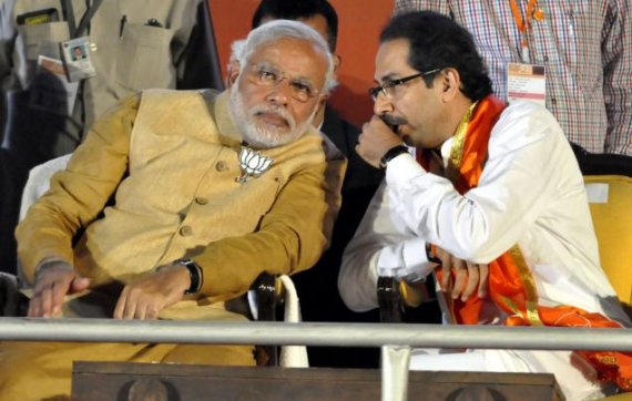 shiv sena ready to back bjp led coalition in maharashtra