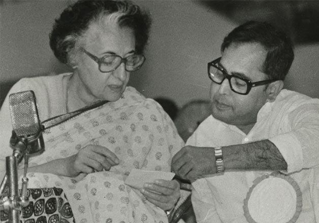 Image result for pranab mukherjee with indira gandhi