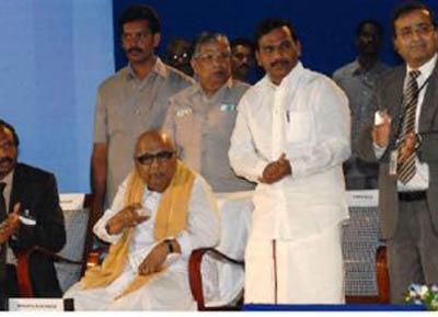karunanidhi will select raja s replacement says kanimozhi