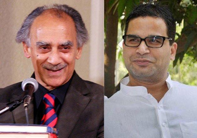 prashant kishor s meeting with arun shourie sparks