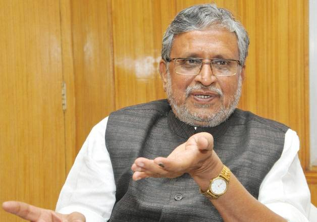 sushil modi meets manjhi for joint campaign in council poll