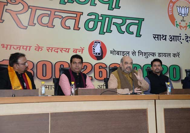 over 100 corporate honchos join bjp on a single day