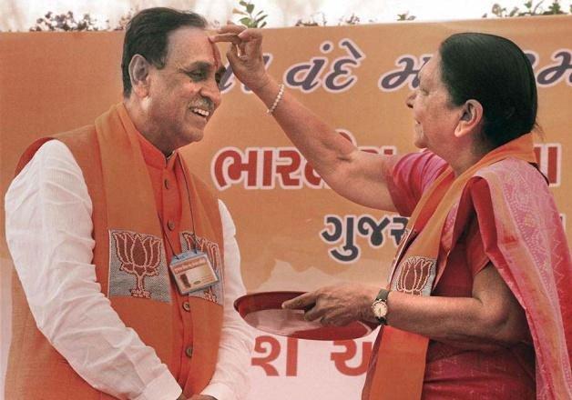 vijay rupani takes over as new gujarat bjp chief