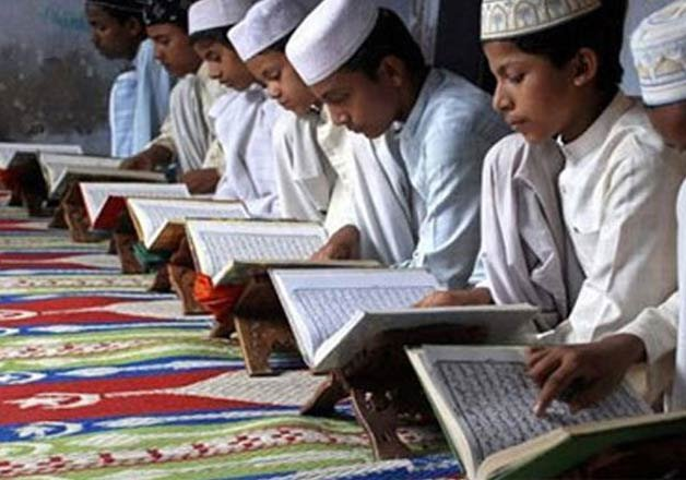 madrasas teaching incomplete history of india claims rss