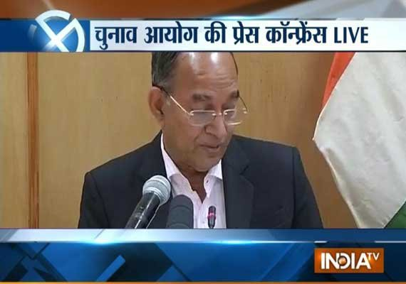 ec announces five phase polls in j k jharkhand from nov 25