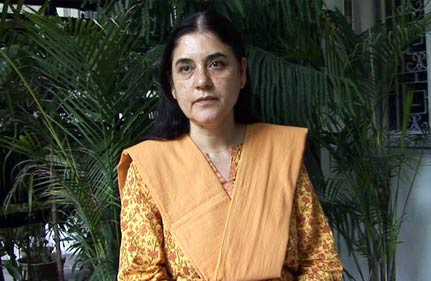 most ministers in upa face corruption charges maneka gandhi