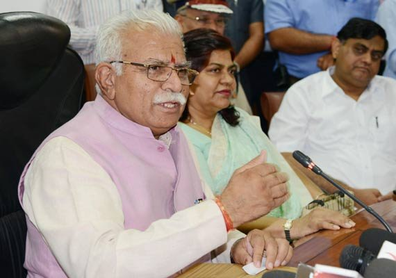 law will take its own course haryana cm on vadra land deals
