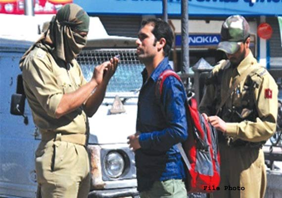 police crackdown on separatists in poll bound j k