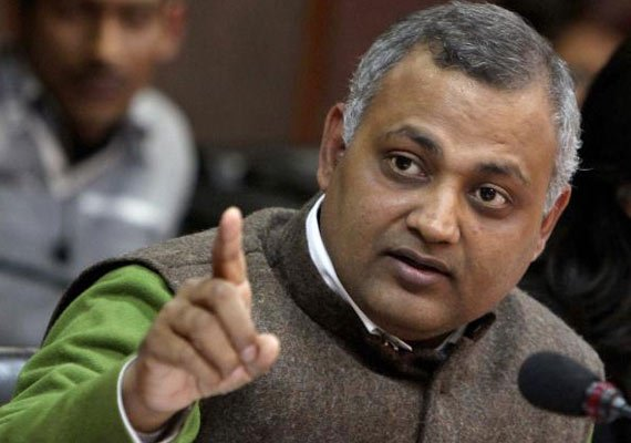 midnight raid ex minister bharti seeks fir against erring