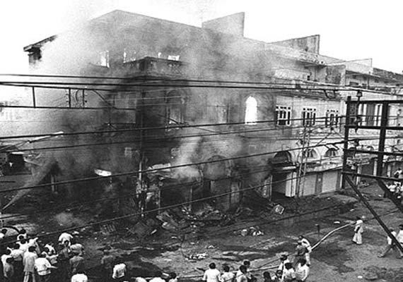 in pics when death ruled delhi after indira gandhi s