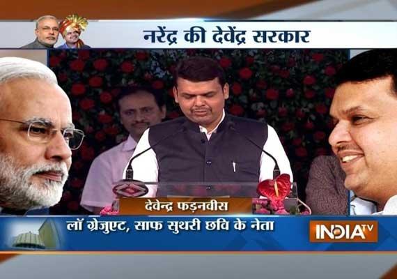 devendra fadnavis sworn in as chief minister of maharashtra