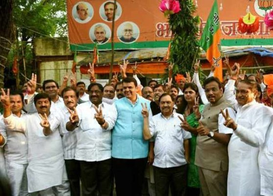 bjp legislature party to meet in mumbai today