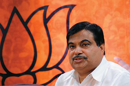 bjp authorises gadkari to decide yeddyurappa s fate