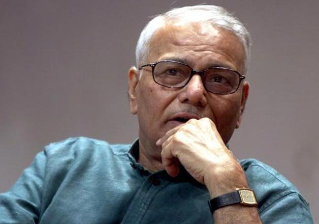 i am with government on jnu says bjp leader yashwant sinha