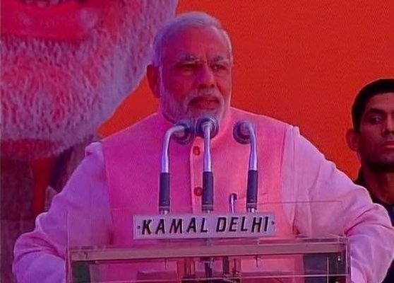 you have turned pen into broom narendra modi tells