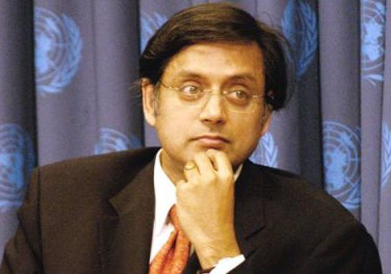shashi tharoor slams modi government for ignoring indira s
