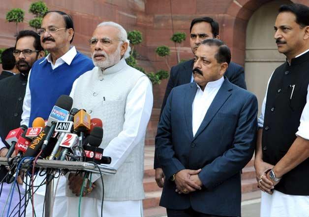 hopeful of a fruitful parliament session narendra modi