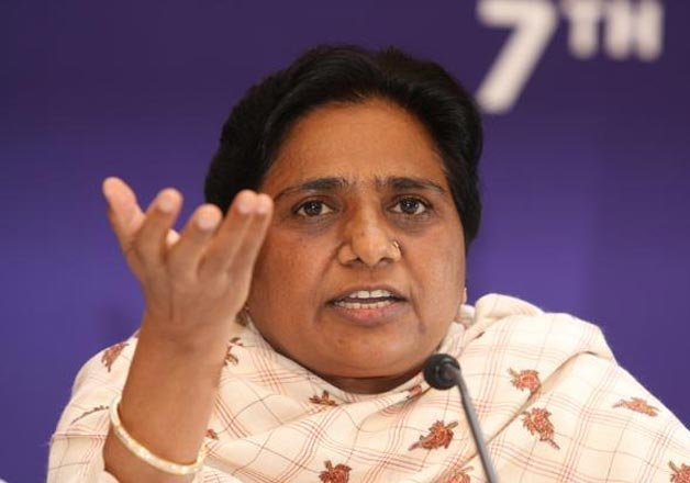mayawati accuses samajwadi party for working against lohia
