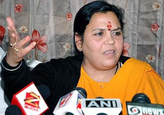 Uma Bharati participates in 'Run for Unity' in UP | National