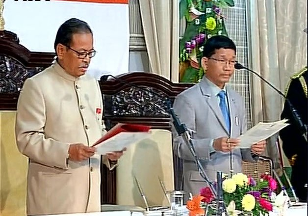 political impasse ends kalikho pul sworn in as new cm of