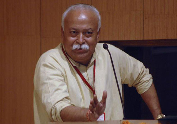 jd u minister demands legal action against rss chief mohan