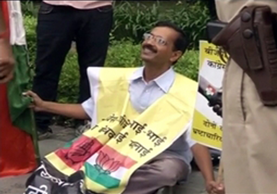 arvind kejriwal detained and released again delhi police