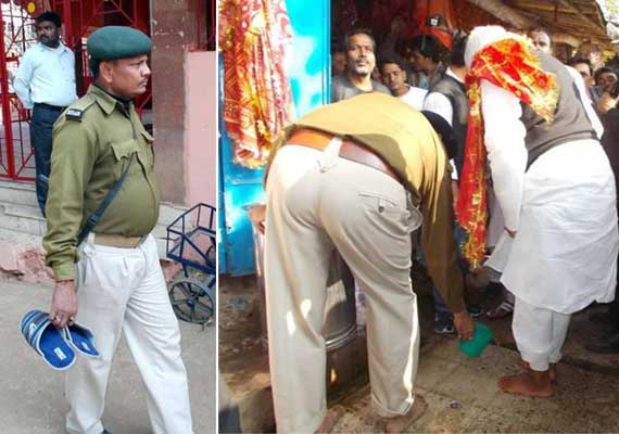 washing of lalu s feet by dsp jharkhand police orders probe