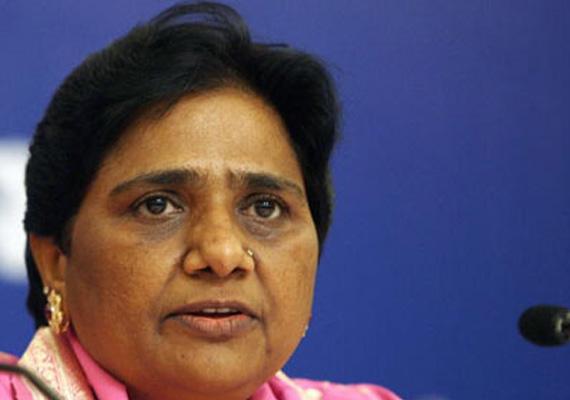 mayawati criticises congress for disrespecting poor