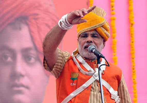 modi far ahead of rivals in hindi heartland says survey