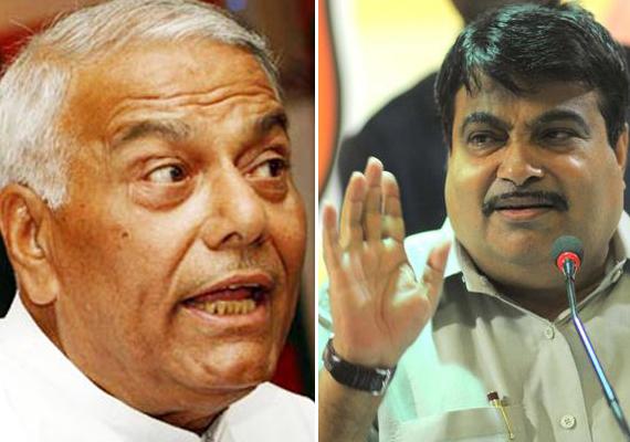 nitin gadkari must quit yashwant sinha