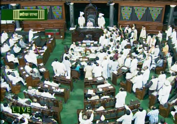 parliament deadlocked for 2nd day bjp demands pm s ouster