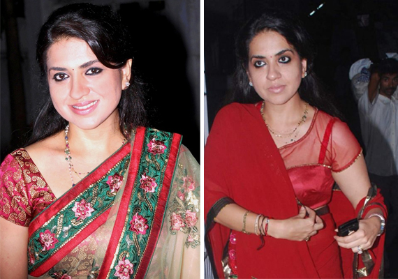 rare pics of shaina nc bjp s glamorous spokesperson