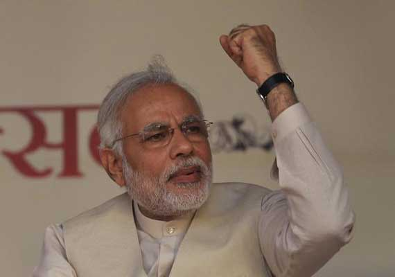 row over omission of parts of modi interview to dd news