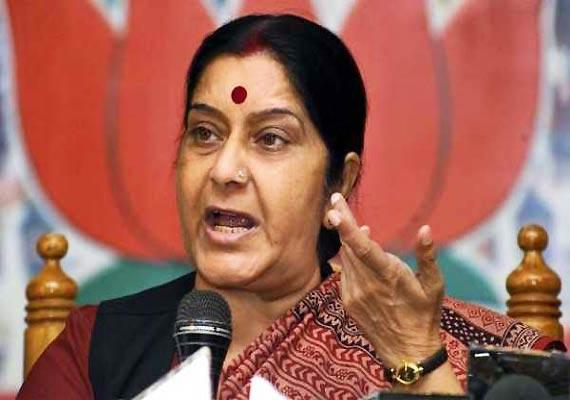sushma swaraj expects snap ls poll soon