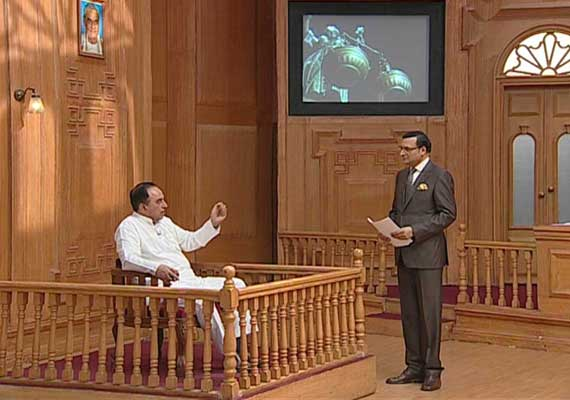 swamy tells aap ki adalat dubai mafia killed sunanda pushkar