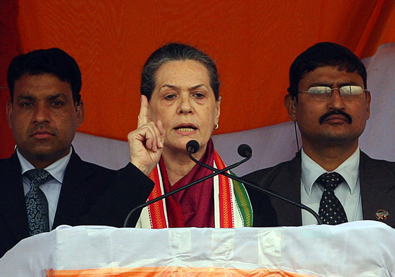 up has become mascot of corruption says sonia