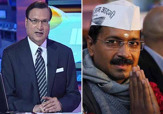 watch how rajat sharma exposed arvind kejriwal in aaj ki
