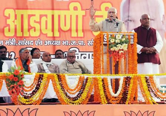 will oppose undemocratic means of grabbing power says advani